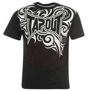 Tapout Core T Shirt Mens Black