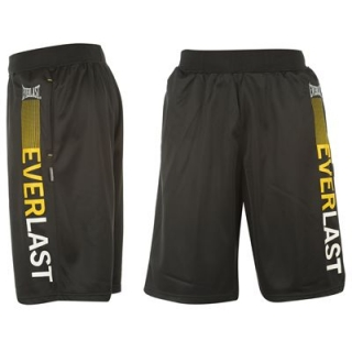 Everlast Track Shorts Mens Black