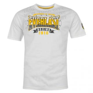 Everlast Premium T Shirt Mens White  AOP