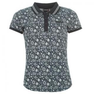 Lonsdale Polo Ladies Navy Flora