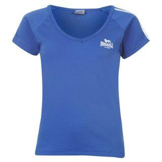 Lonsdale 2S V T-shirt Blue/White
