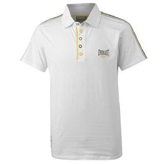 Everlast Tape Polo Mens White