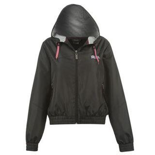 Lonsdale Jacket Ladies Black
