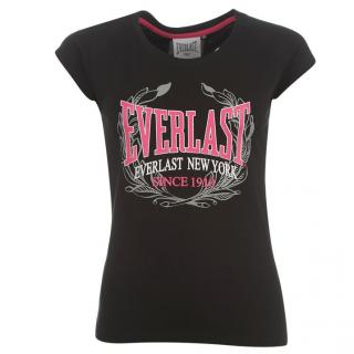 Everlast Crew Tee Ladies Black