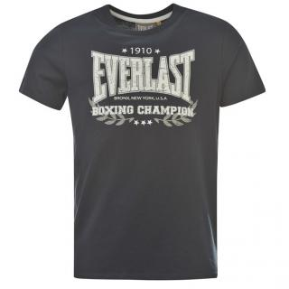 Everlast Heritage T Shirt Mens Navy/White