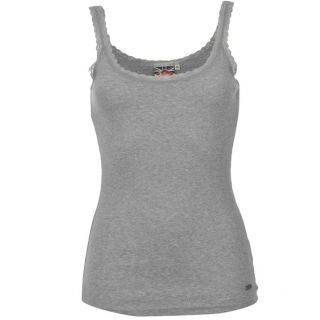 Lee Cooper Vest Ladies Grey