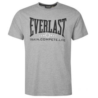 Everlast Heritage T Shirt Mens Grey 2524