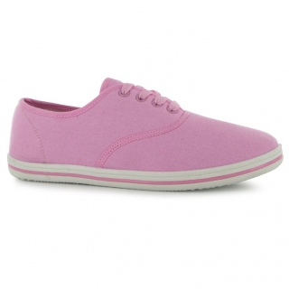 Slazenger Canvas Shoes Light Pink