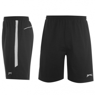 Slazenger Jersey Short Mens Black