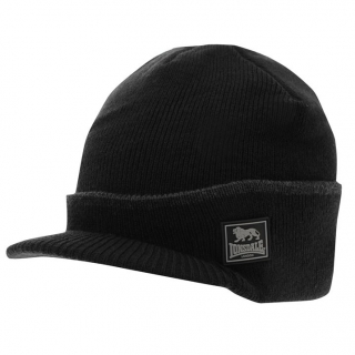Lonsdale Peak Hat Mens Black