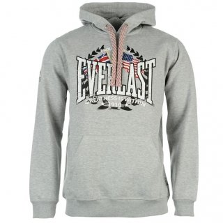 Everlast Web OTH Hoody Mens Grey