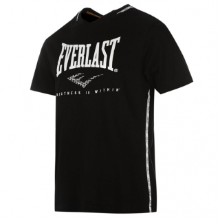 Everlast Taped T Shirt Mens Black