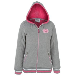 Everlast Fleece Hoody Ladies Charc