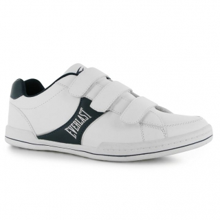 Everlast Aekel Vel Mens Trainers White/Navy