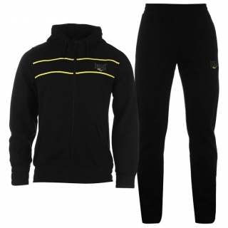 Everlast Jog Suit Mens Black