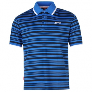 Slazenger  Polo Shirt Mens Blue