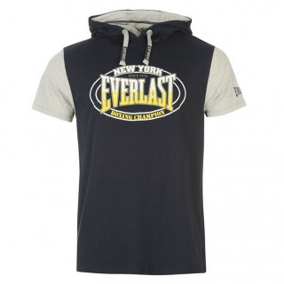Everlast Mock Layer TShirt Mens Navy