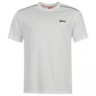 Slazenger T-shirt Mens White