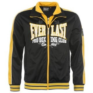 Everlast Mock Tracksuit Top Black