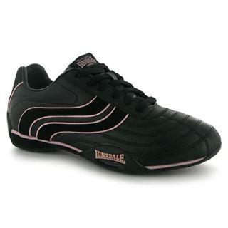 Lonsdale Camden Ladies Black/Pink
