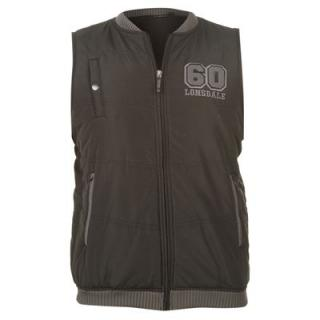 Lonsdale Bond Gillet Mens Black/Charcoal