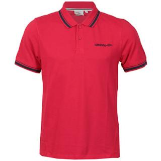 Umbro Trip Polo Shirt Red