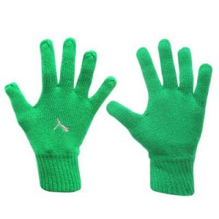Puma Knitted Gloves Mens Green