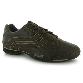 Lonsdale Camden Trainers Mens Brown