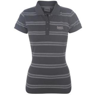 Lonsdale YD Polo Ladies Black/Charc