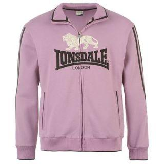 Lonsdale Zip Top Mens Lilac