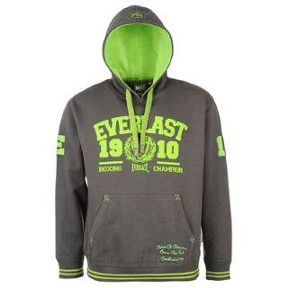 Everlast Fluorescent Lined Hoody Mens Charcoal