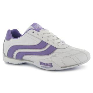 Lonsdale Camden Ladies White/Lilac