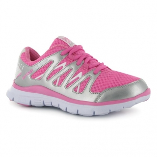 Karrimor Duma Running Shoes Pink/Silver